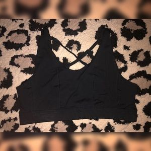 Torrid Black Sports Bra